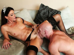 India Summer and hard cocked guy Johnny Sins